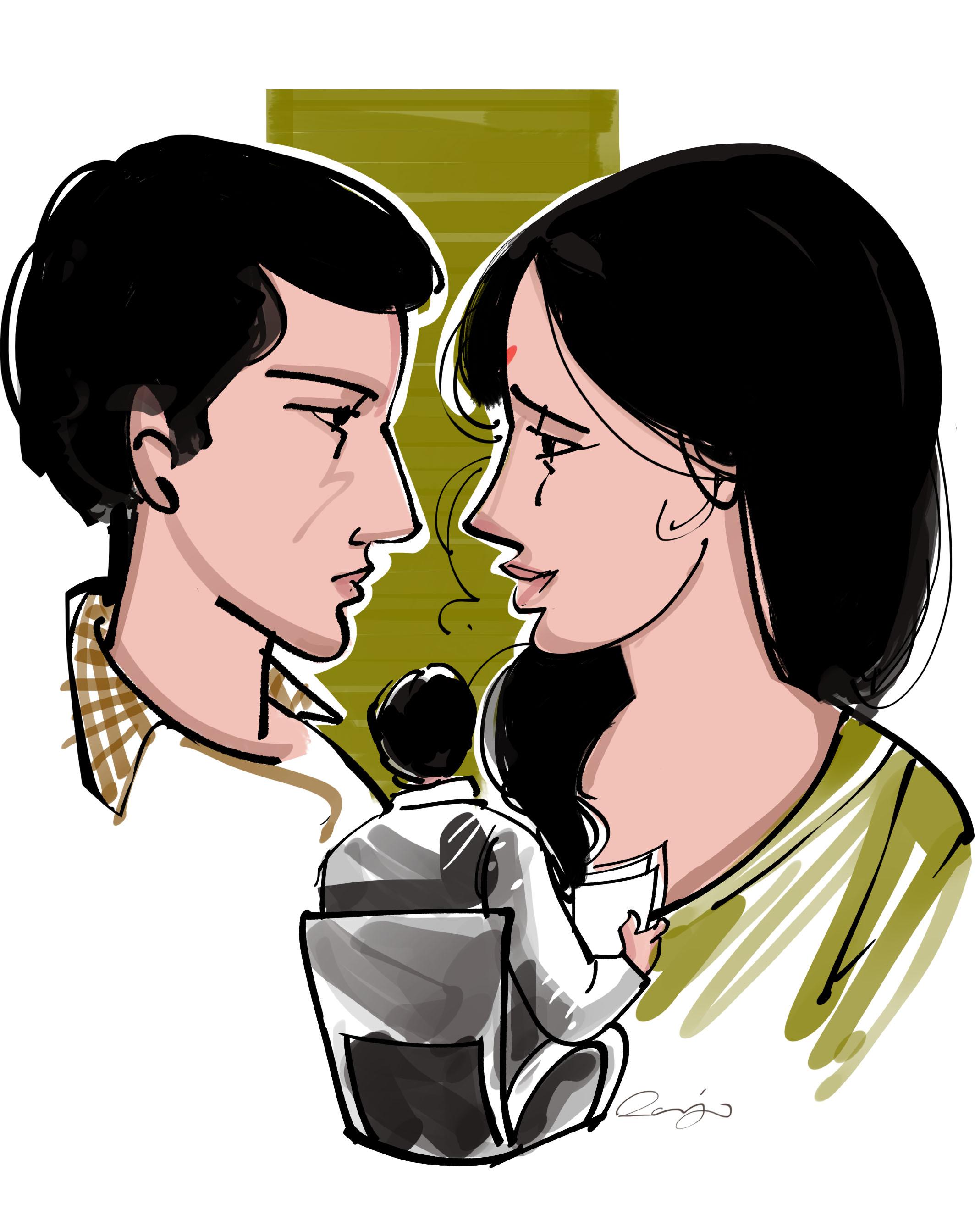 story of manoj and ramani
