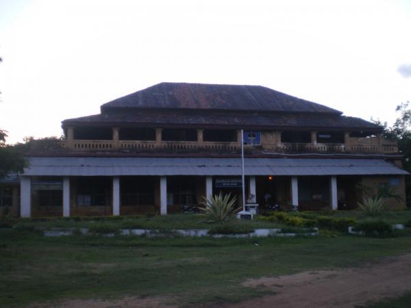 పి.ఆర్. కళాశాల ప్రధాన భవనం